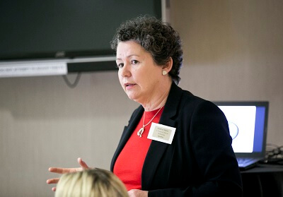 Financial Abuse workshop presenter Siobhan Nunn, Principal Social Worker, HSE & National Safeguarding Committee