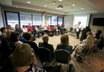 Illegal Moneylending workshop presenter Dr. Stuart Stamp, Maynooth University