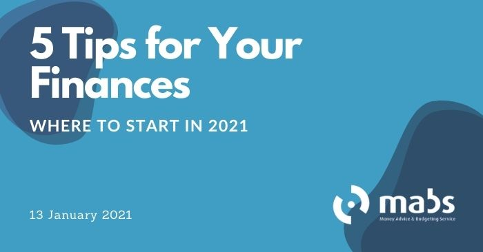banner for post for 5 tips for your finances