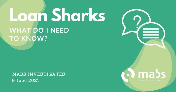 banner for post for loan sharks mabs investigates