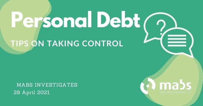 banner for post for personal debt mabs investigates