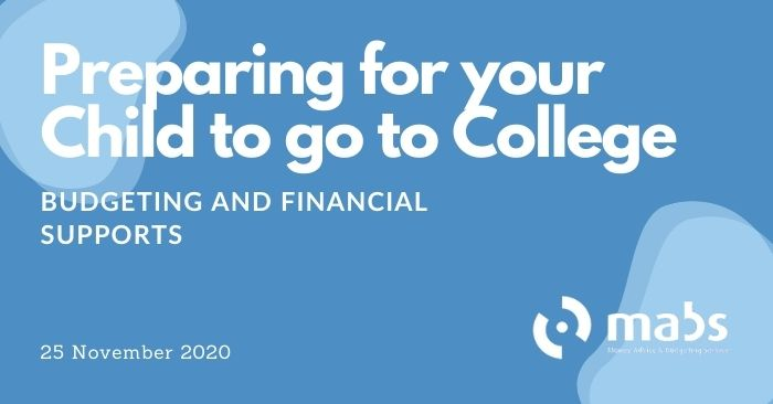 banner for post for preparing your child to go to college
