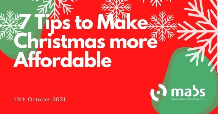 banner for post on tips to make christmas more affordable
